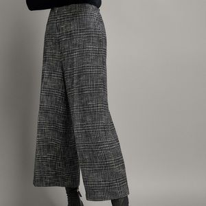 Massimo Dutti | wide leg cropped trousers